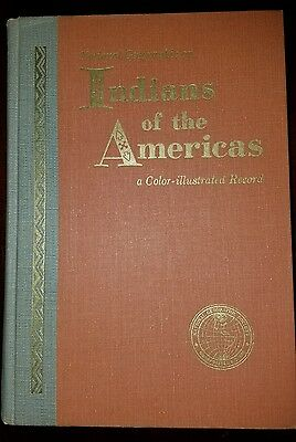 National Geographic on INDIANS OF THE AMERICAS Color-Illustrated-1963 FREE SHIP