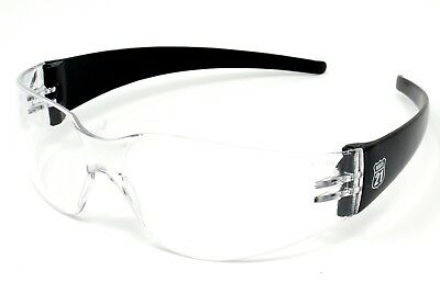 Clear Anti-Fog Wraparound Motorcycle Sunglasses/Biker Wraps Inc. Pouch & Postage