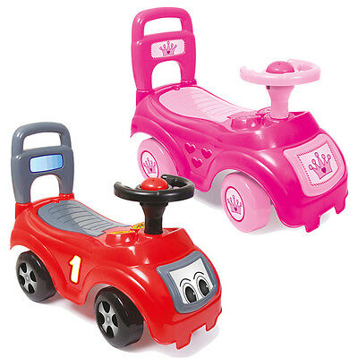 Dolu My First Ride On Kids Toy Cars Girls Boys Push Along Toddler 12 Months +