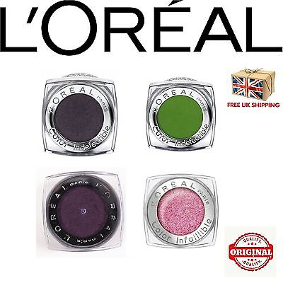 L'Oreal Color Infaillible Infallible Eyeshadow Various Colours NEW