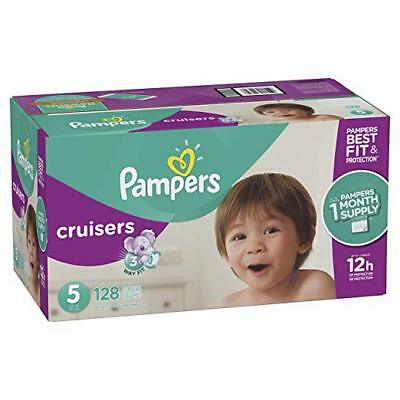 ***NEW*** Pampers Swaddlers Diapers Size 5, 124 count ***FREE SHIPPING***