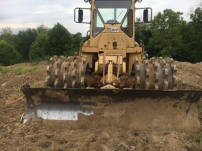 1976 815 CAT Compactor, 6674 hours, second owner runs & Operates