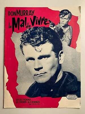 Dossier Presse United Artists // Don Murray Le Mal De Vivre