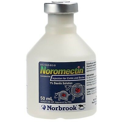 Norbrook noromectin 50 mL FREE SHIPPING - GENUINE, AUTHENTIC