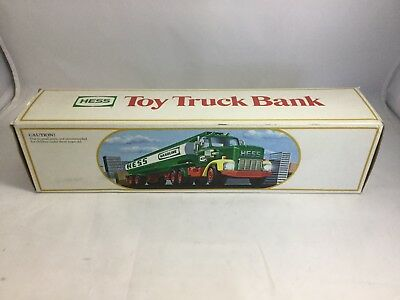 1984 Hess Truck Toy Bank