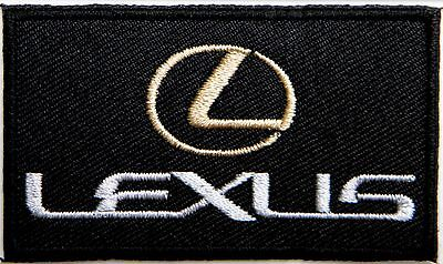 LEXUS Logo Racing Car Patch Sew Iron on Embroidered Jacket T-shirt Cap Hat Badge