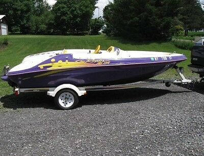1998 Sea Ray Sea Rayder Jet Boat 16 foot 162 hours