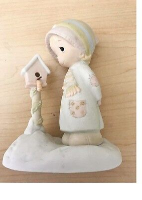 Precious Moments Figurine--E-0503 Blessings From My House To Yours--Very Nice!