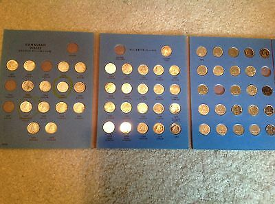 Partial set of Canadian Dimes  26 are 80% Silver 58 Total