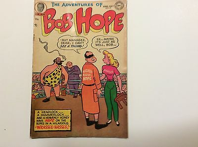 Bob Hope - (Adventure Of) No.21 June-July 1953 By National Comics