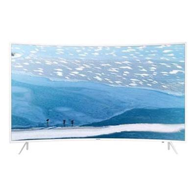 Samsung Samsung 55 '' Smart Tv Led Curvo 4K Ultra Hd Bianco Ue55Ku6510Uxzt - Gar