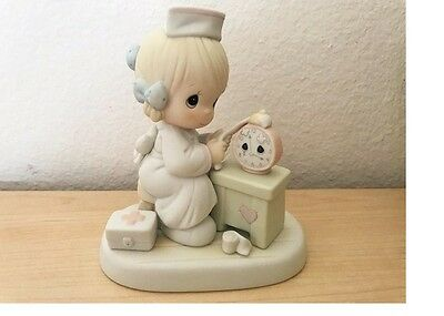 Precious Moments Figurine--523739 Time Heals--Very Nice!