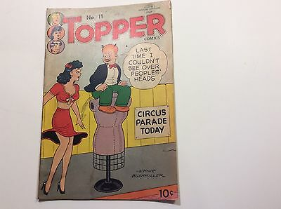 Tip Topper Comics No.11 June-July 1951 By United Feature -Sign Ernie Bushmiller