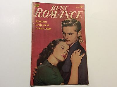 Best Romance No. 6 May 1952 By Standard Comics