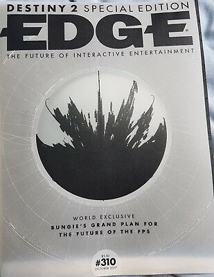 EDGE  ISSUE 310 October  2017 Destiny 2 Special Edition Cover