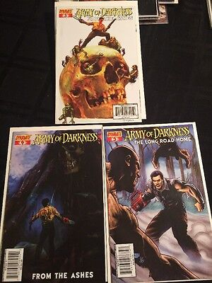 Army Of Darkness From The Ashes #3,4&5 Dynamite 2007