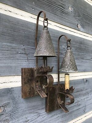 Pair of Vintage Wall Sconces, Wall Lights - Antique Lighting - Vintage Lighting