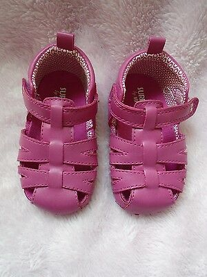 SURPRIZE Stride Rite Pink Sandals shoes baby girl Toddler 4