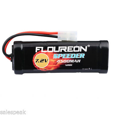 7.2V 4500mAh NiMH Batterie Flat Female-tamiya Pour RC Voiture Camion véhicule FR