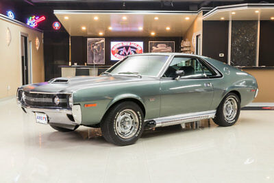 1970 AMC AMX  Restored AMX! Correct Drivetrain, 390 V8, 4-Speed Manual, PS, PB, Disc, Go-Pack!