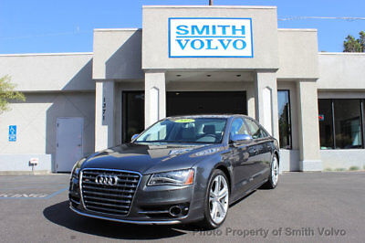 2013 Audi S8 4dr Sedan 2013 Audi S8 1 Owner Fresh $7700 service by AUDI