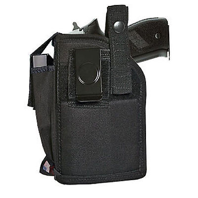 NEW ACE CASE EXTRA-MAGAZINE HOLSTER FITS Glock 17, 19, 22, 23, 25, 31 w/ Laser