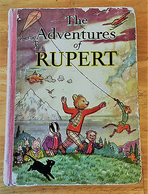 RUPERT ORIGINAL ANNUAL 1939 Neatly Inscribed Clean contents Nr VG