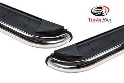 Ford Custom Running Boards Lwb Side Steps Calibre Stainless Steel And Aluminium