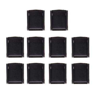 10pcs Resin POM Press Release Buckle Clip for Craft Webbing Paracord Bag Clasp