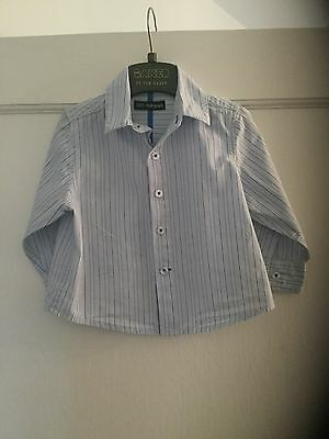 Beautiful Baby Boys Autograph M&S Long Sleeved Shirt 6-9 months