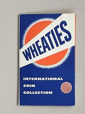 Wheaties Cereal Promo: International Coin Collection - Vintage 1950s