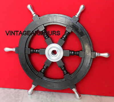 "Boat Steering ShipWheel 18""Classical design_Nautical Pirate Captains Shipswheel"