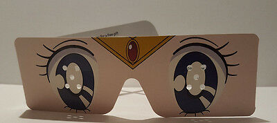 Sailor Moon JList JBox Paper Cosplay Glasses Anime Eyes