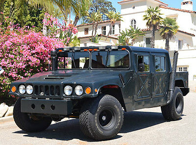 1982 Hummer H1 Badlands CALIFORNIACLASSIX 1982 Badlands 4x4 Hummer H1 HumVee w. 6.2-Liter GM Turbodiesel