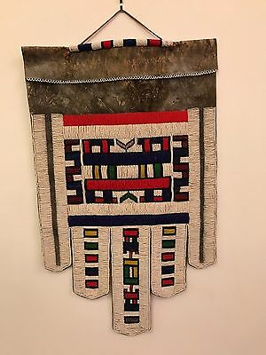 Rare African Beaded Apron Wedding Ritual Ceremonial Antique