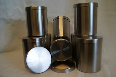 8 X Stainless Steel Containers Some Ikea