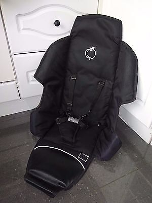 iCandy Apple 1 - Seat COVER in Black, fits Pear Upper Blue Tag Seat Frame