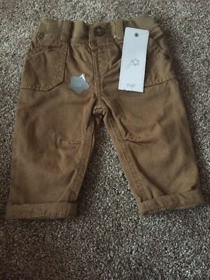 Boys Chinos 0-3 Months