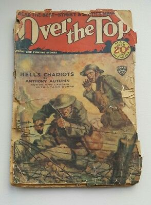 Over the Top May 1930 WWI Pulp