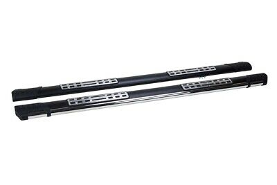 Ssangyong Kyron Side Steps Running Boards Emerald Black 2007 On Oem Quality