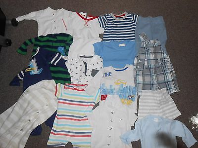 baby boys clothes mixed items 3-6 months