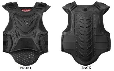 Icon Stryker Vest Motorcycle Back Chest Protector Armor Guard -Choose Size/color