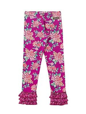 New Matilda Jane Friends Forever Waverly Floral LEGGINGS Size 8 Tween NWT