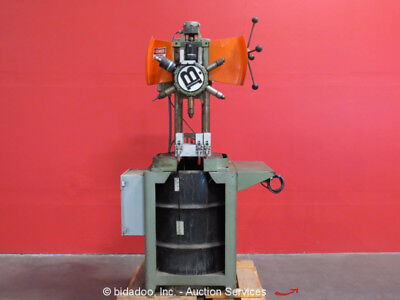 Burgmaster Houdaille 6-Spindle Auto-Indexing Turret Drill Press Tapping Machine