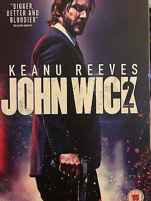 John wick chapter 2 brand new sealed