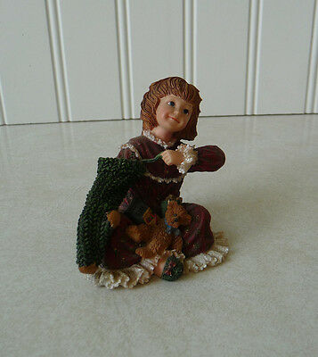 Boyds Bears YESTERDAY'S CHILD Figurine #3593 Faith...Christmas Morning 2004
