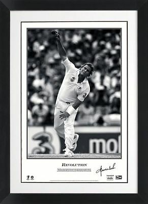 Shane Warne Revolution Personally Signed Lithograph - Authenticated PWC