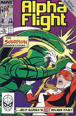 Alpha Flight 79   Near Mint    The Scorpion