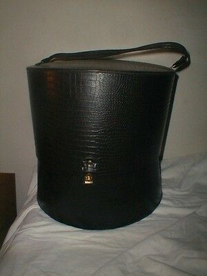 Early Black Hat Box Container