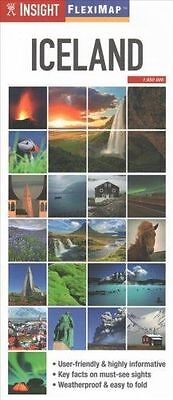 Iceland Map - Flexi Map - New - 2015 - Insight Maps